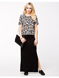 Club L Essential Plain Maxi Skirts