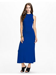 Club L Essentials High Neck Maxi Key Back