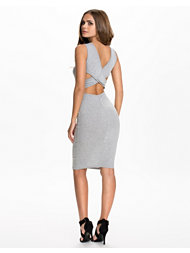 Club L Essentials Cross Back Midi Dress