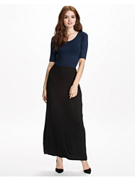 Club L Essentials Colour Block Maxi Dress
