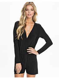 Club L Essentials Soft Kimono Wrap Playsuit