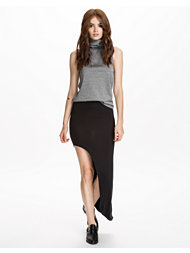 Club L Essentials Asymmetric Side Skirt