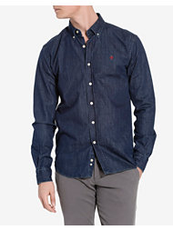 Morris Cary Grant Denim Shirt