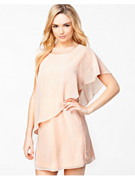 The Style Chiffon Wrap Dress