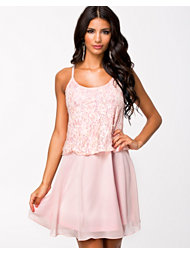 The Style Embellished Top Chiffon Dress