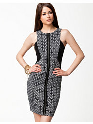 River Island Zip Pencil Dress