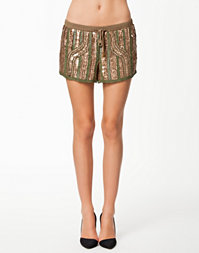 Embellished Runner Shorts
