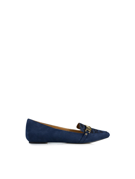 point id tag loafer river island navy everyday shoes