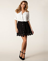 River Island - Ivy Button Front Skirt