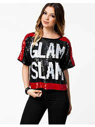 River Island Sequin T-Shirt Glam Slam