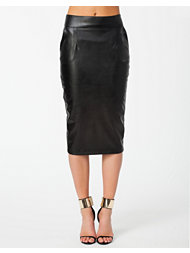 River Island PU Pencil Skirt
