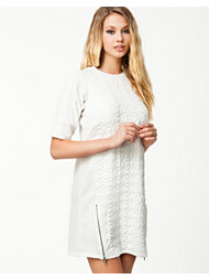 River Island Cara Quiled Tee Dress