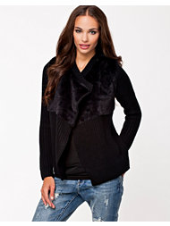 River Island Fur Fall Foward Knitwear