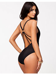 River Island Mesh Swimsuit