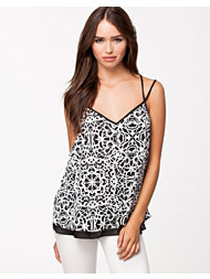 River Island Double Layer Cami Print