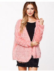River Island Fluffy Feather Cut And Sew