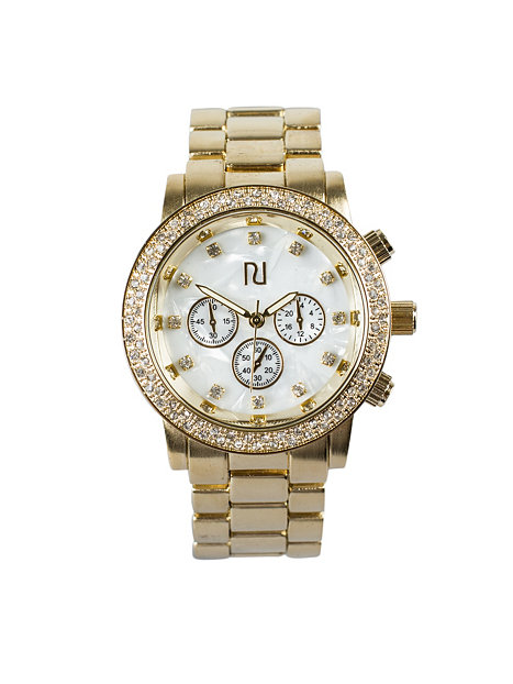bling mop river island gold watches