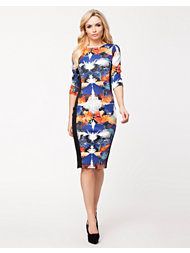 River Island Splash Print Column Dress