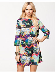 River Island Printed Nessa Sack Dress
