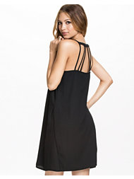 River Island Cage Back Slip Dress