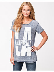 River Island La Burnout Tee