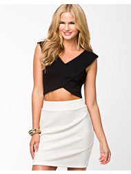 River Island Wrap Crop Top