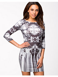 River Island Mirror Mono Mini Dress