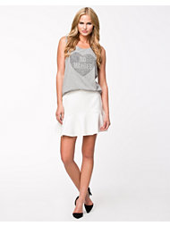 River Island Fluted Hem Skirt