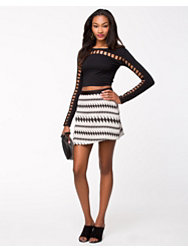 River Island Snappy Wrap Skirt
