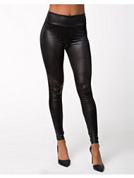 River Island Leather Look HW Legging