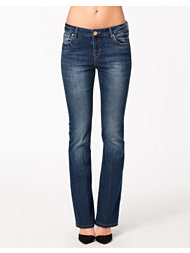 River Island Dark Kickflare Denim