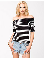 River Island LS Bardot Fitted Top