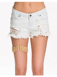 River Island Gold Fringe Leg Harness