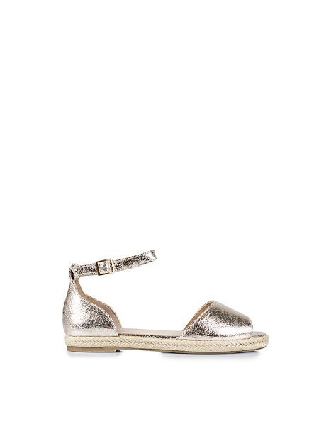 espradille river island gold everyday shoes shoes