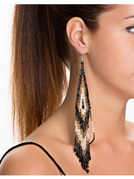 River Island Dangle Seedbead Earrings