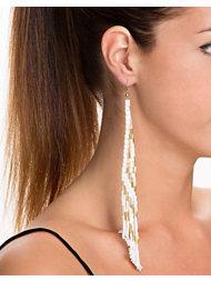 River Island Seedbead Dangle Earrings