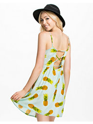 River Island Short Pineapple Print Dress