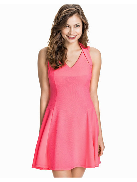 Sless Cross Back Skater Dress
