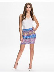 River Island Tribal Aztec Tube Skirt