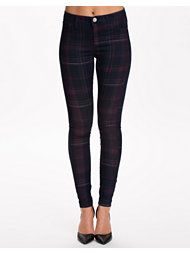 River Island Dark Check Denim