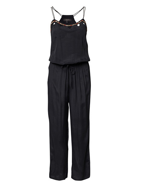 Cut Out Embellished Jumpsuit