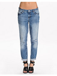 River Island Boyfriend Highway Denim