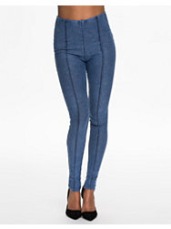 River Island Denim HW Leggings