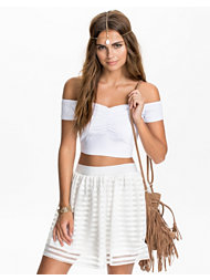 River Island Rouched Crop Bralet Top