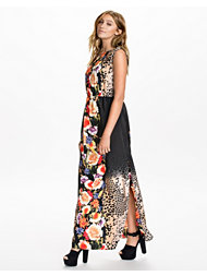 River Island Sless Tabbard Maxi Dress