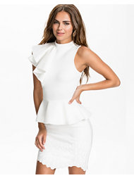 River Island Peplum Ruffle Dress