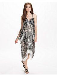 River Island Mixed Mono Cocoon Maxi Dress
