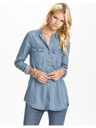 River Island LS Denim Shirt