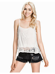 River Island SL Lace Embroidered Cami Top