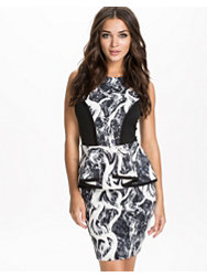 River Island Sless Peplum Pencil Dress
